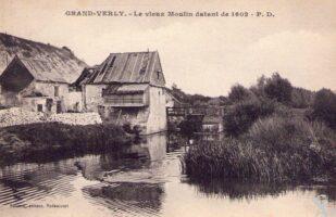 Moulin datant de 1602 - Contributeur : A. Demolder