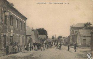 Rue principale - Contributeur : R.Hourdry