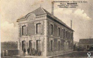 Hôtel de la Gare -Maison Masoin - Contributeur : R.Hourdry
