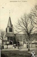 L'église vers 1915 - Contributeur : N.Gilbert