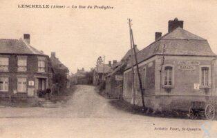 La rue du presbytère - Contributeur : A. Demolder