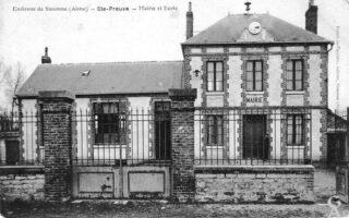 Mairie ecole - Contributeur : Danièle Oudin