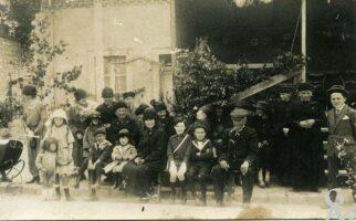 Inauguration du monument aux morts - 20 juin 1926. - Contributeur : Andrée MOUTON FRAIX