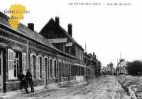 Rue de la Gare - Contributeur : Viviane Courtin