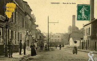 rue de la gare - Contributeur : Eliane Martin