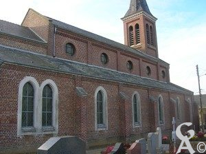 l'église. Photo :M.Nivelet