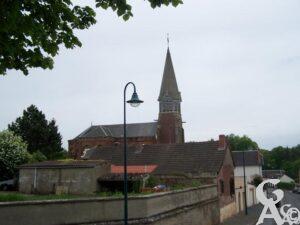 L'église - Photo :Maryse Trannois