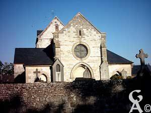 L'église-Photo : M.R. Lavigne