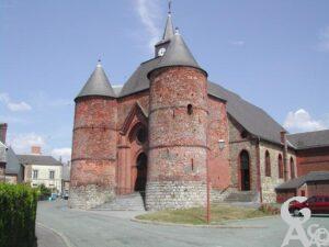 L'église Saint-Martin -photo: Guy Destré