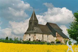 L'église Saint-Martin de Berlise-Photo de M. Jean-Claude CAMUS de Berlise