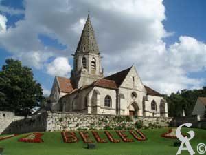 L'église- Corinne Sylvos