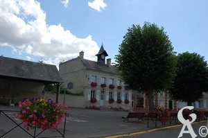 Mairie. Photo : Maryse Trannois.