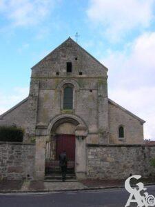 L'église -M.Nivelet