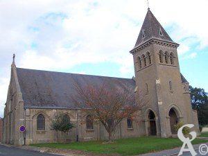 L'église - Photo : Elisabeth Djebels