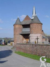 L'église fortifiée-photo Natty