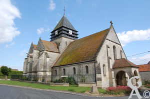 L'église-Photo M.Trannois