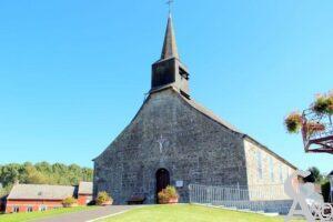 Porche de l'église -A.Demolder
