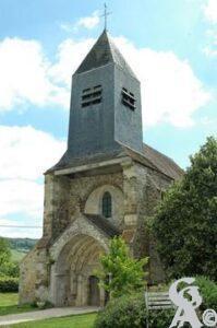 L'église. jean louis Delage : Source Wikipédia