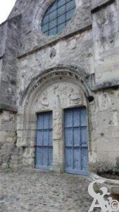 Porche de l'église - Natty Pryjmak