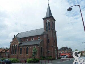 l'église. Photo : M.Trannois