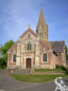 L'église- W.Vaudron