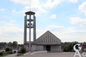 L'église de Mondrepuis -A.Demolder