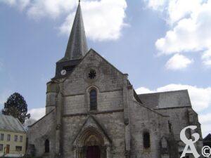 L'église - M.P. Bouleau