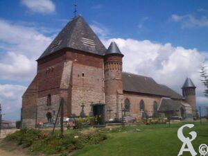 L'église de Beaurain -M.Trannois