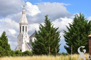 Le clocher de l'église - MTrannois 2020