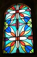 Vitrail de l'église - J.P. Brazier