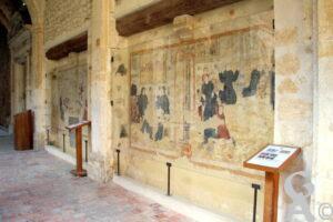 Cloître Peintures Murales Du XVIè Siècle-A.Demolder