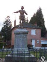 Monument commémorant le passage de Jeanne d'Arc