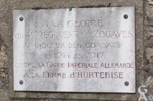 Plaque Commémorative du 4e Régiment de Zouaves