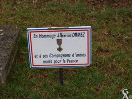 En hommage à Georges DAMEZ et ses compagnons d'armes Morts pour la France