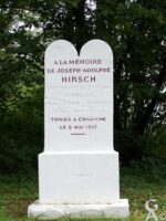 Stèle Commémorative du Lieutenant HIRSCH