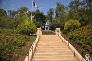 Chapelle Commémorative du cimetière militaire Français