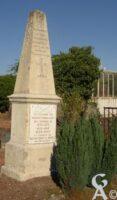 Monument aux morts cimetière