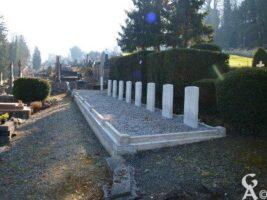Carré militaire Anglais cimetière SAINT-JUST