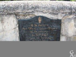 Plaque commémorative du pont Gambetta