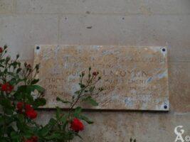 Plaque Commémorative du 113e RI
