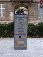 Stèle commémorative des résistants