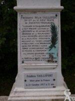 Calvaire Commémoratif Frédéric TAILLEFER