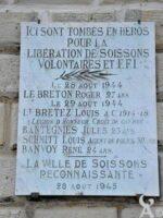 Plaque Commémorative des Volontaires et FFI