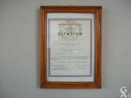 Citation à l'Ordre de l'Armée