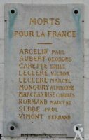 Morts pour la France