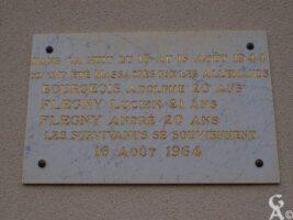 Plaque Commémorative 1939-1945