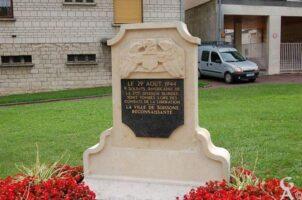 Stèle Commémorative de la 3e Division Blindée Américaine