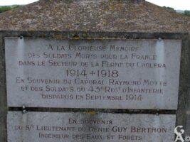 Calvaire Commémoratif de la Ferme du Choléra