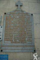 Plaque Commémorative de l'Eglise