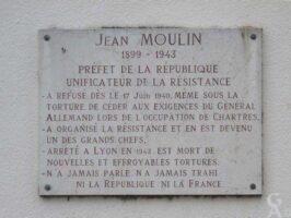 Plaque Commémorative de l'Ecole Jean MOULIN